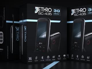 Jethro SC-435 & SC-729 cell phone box design